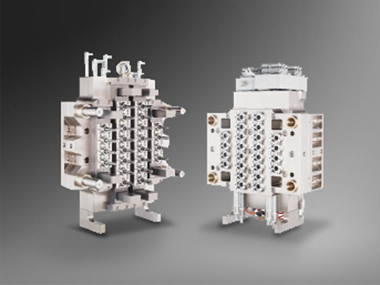 24 Cavity PET Preform Molds