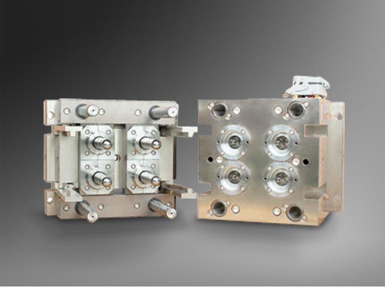 4 Cavity PET Preform Molds
