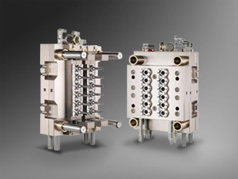 12 Cavity PET Preform Molds