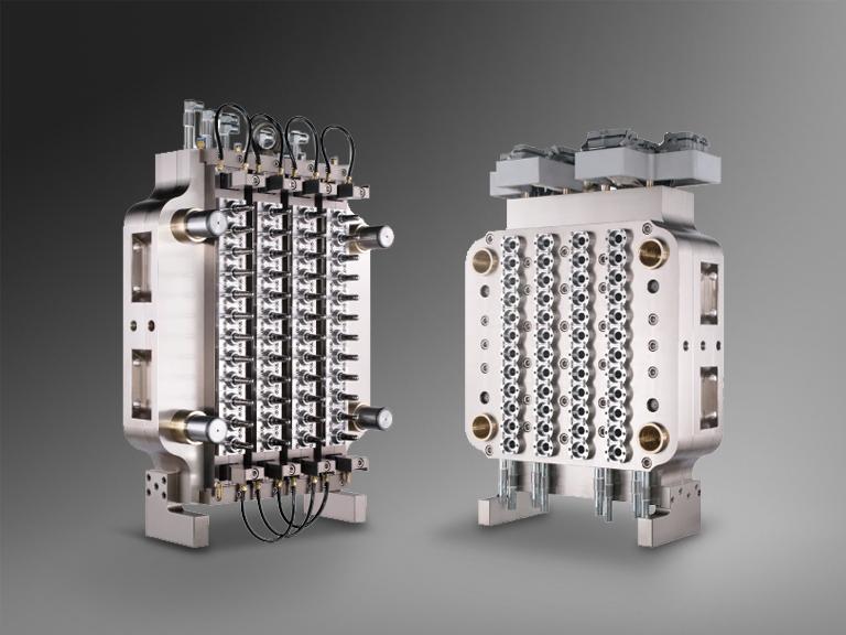 48 Cavity PET Preform Molds